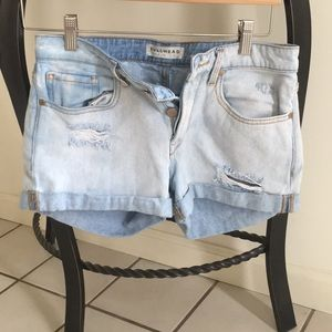 Bullhead Shorts - Jean shorts (boyfriend fit/authentic wash style)